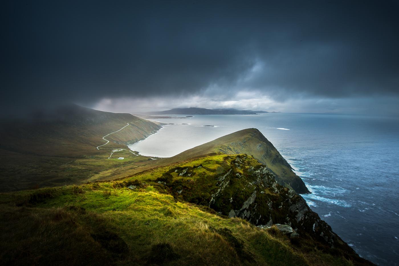 achill island storm ireland