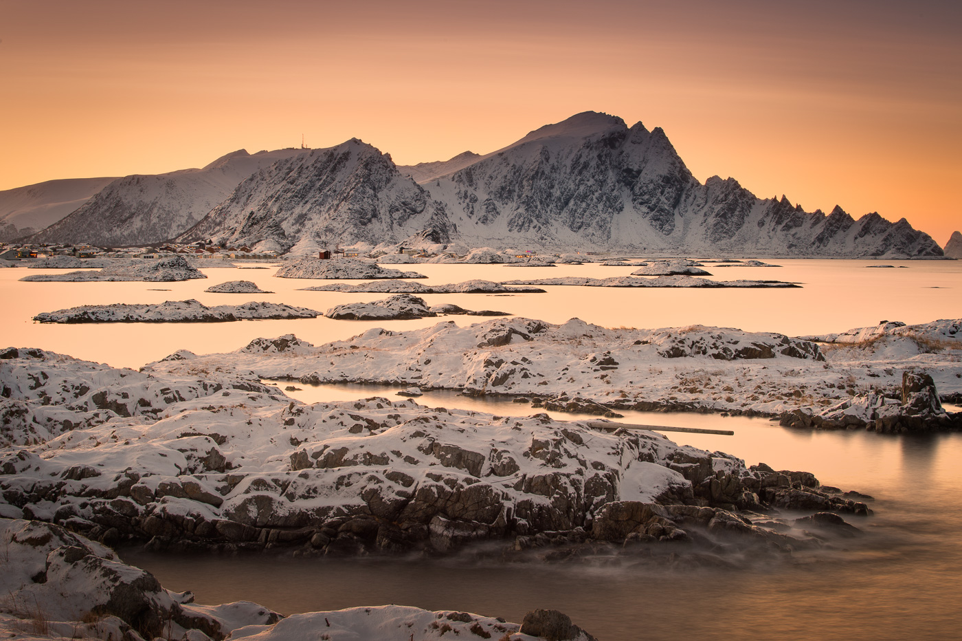 andenes twilight polar night