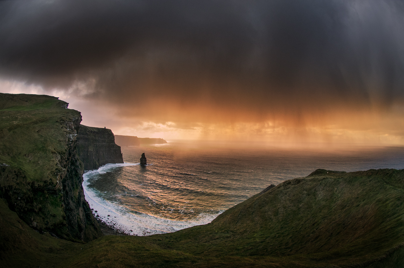 cliffs of moher storm
