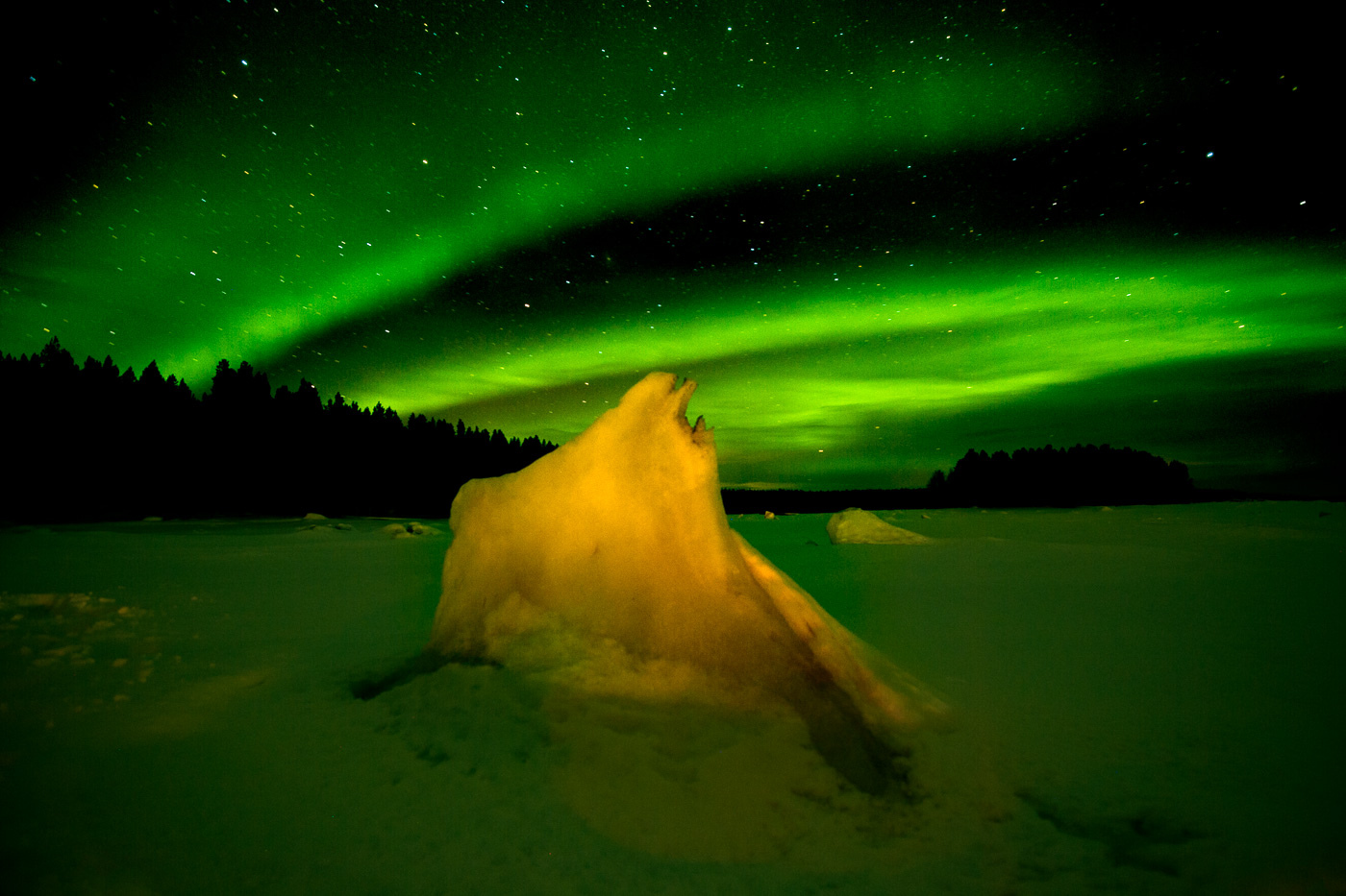 northern light russia