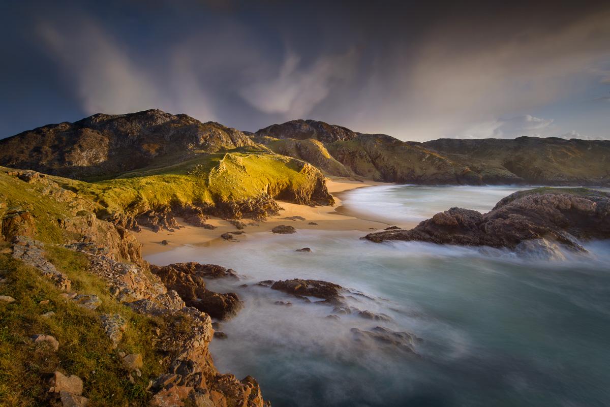 wild beach Ireland west coast beautiful