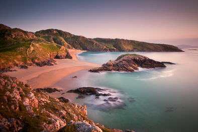 beautiful beach ireland donegal