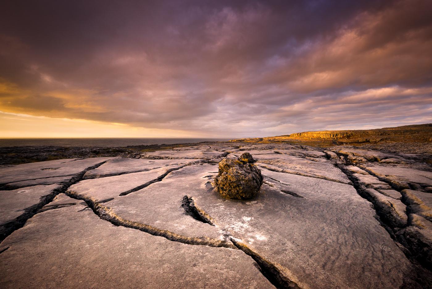 burren limestone fanore county clare