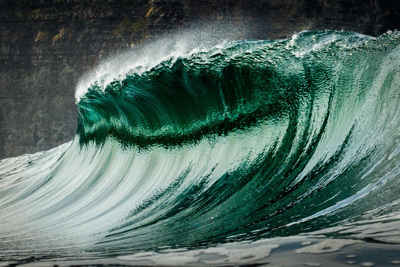 jacking up wave ireland