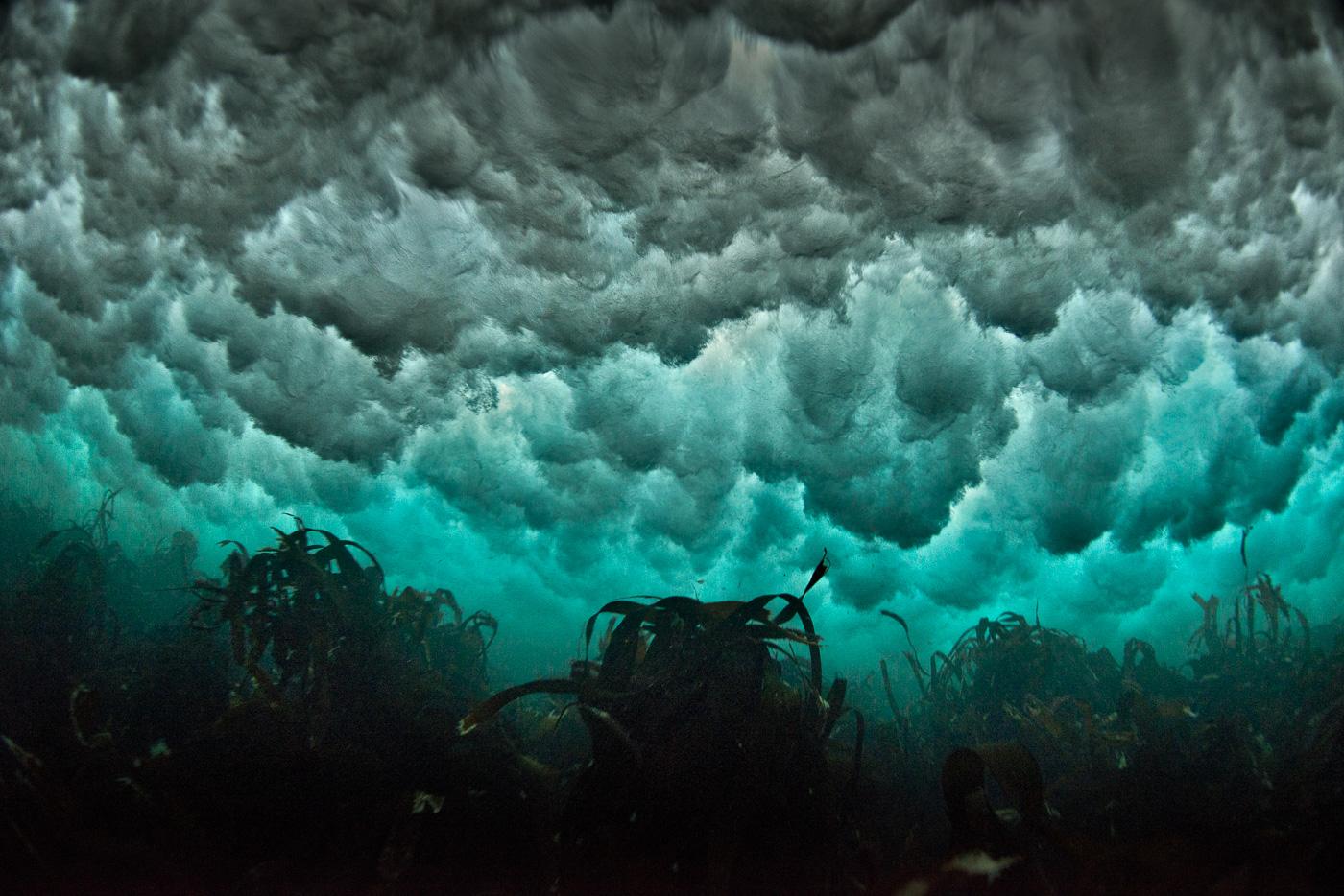 underwater storm ireland