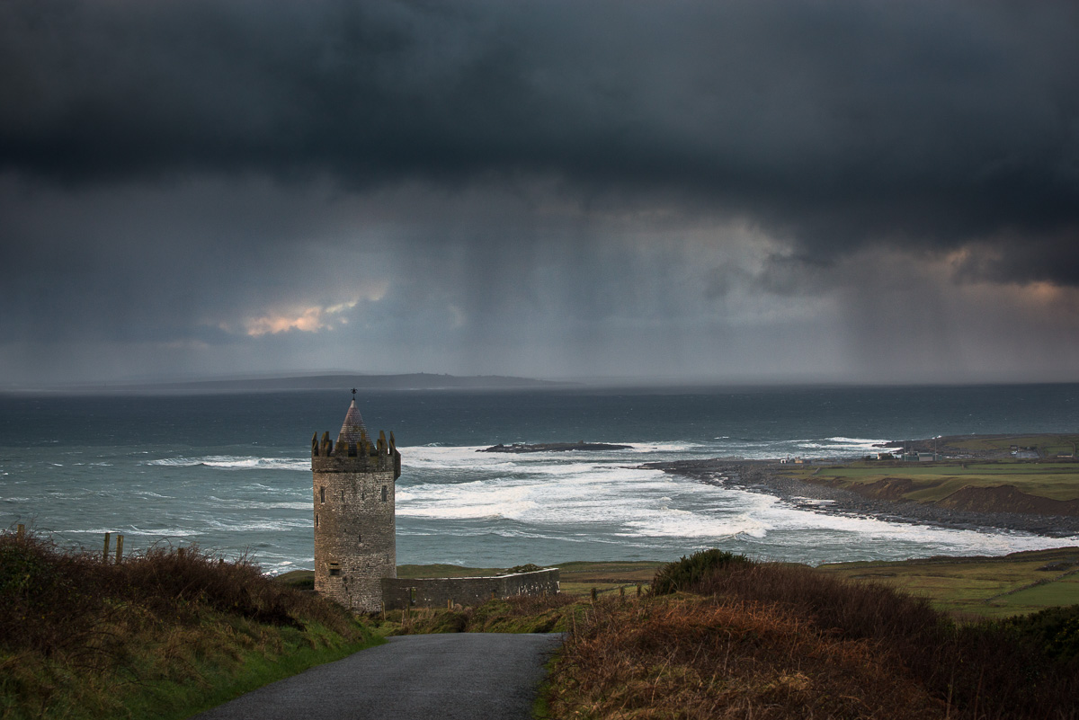 doolin castle storm