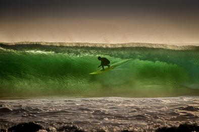 surfing ireland west coast crab island green waves
