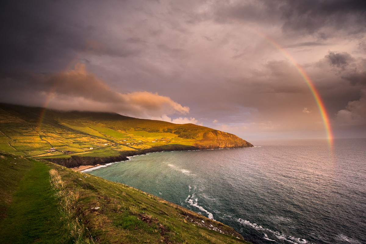 slea head drive rainbow ireland