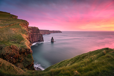 cliffs of Moher amazing sunset prints
